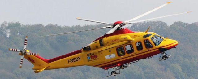 elicottero di elisoccorso